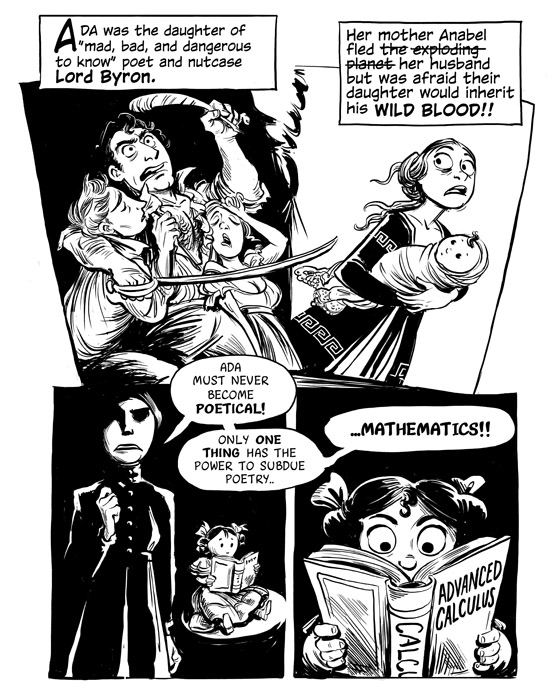 Ada Lovelace Origin comic